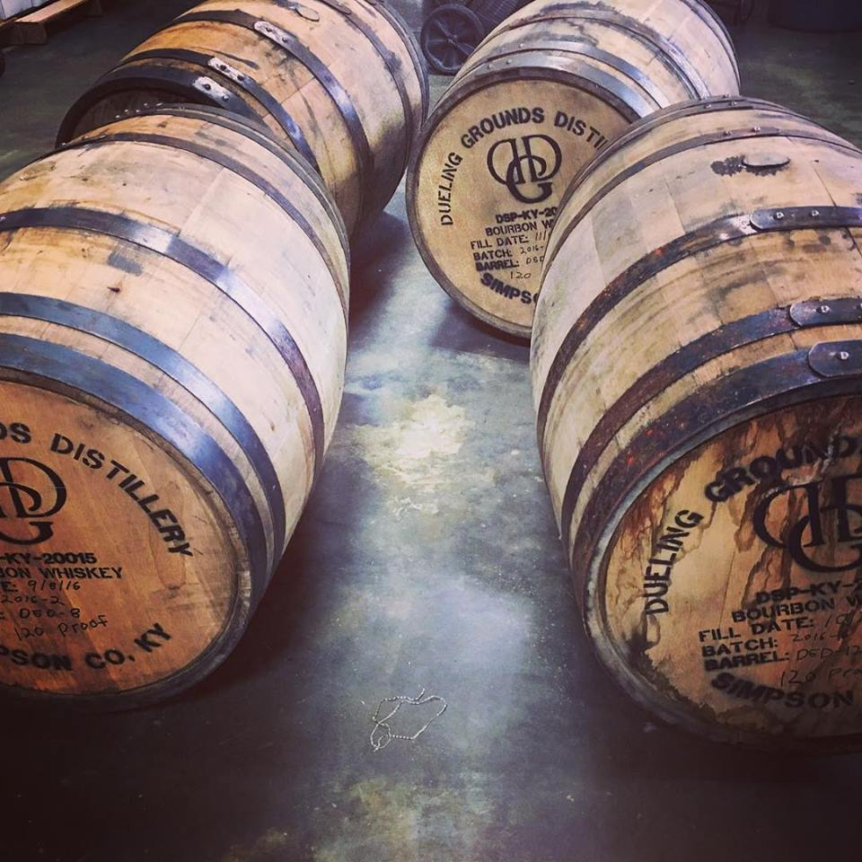 dueling grounds barrels -