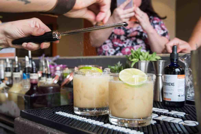 EWBE cocktail - Mocktober: Evan Williams Mocktail Mixology