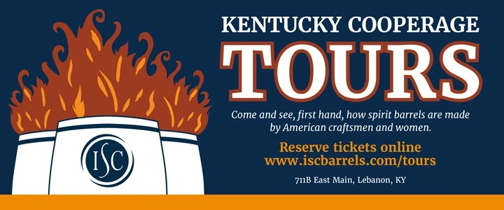 KBTBannnerAd KentuckyCooperage 2020 - KENTUCKY BOURBON TRAIL