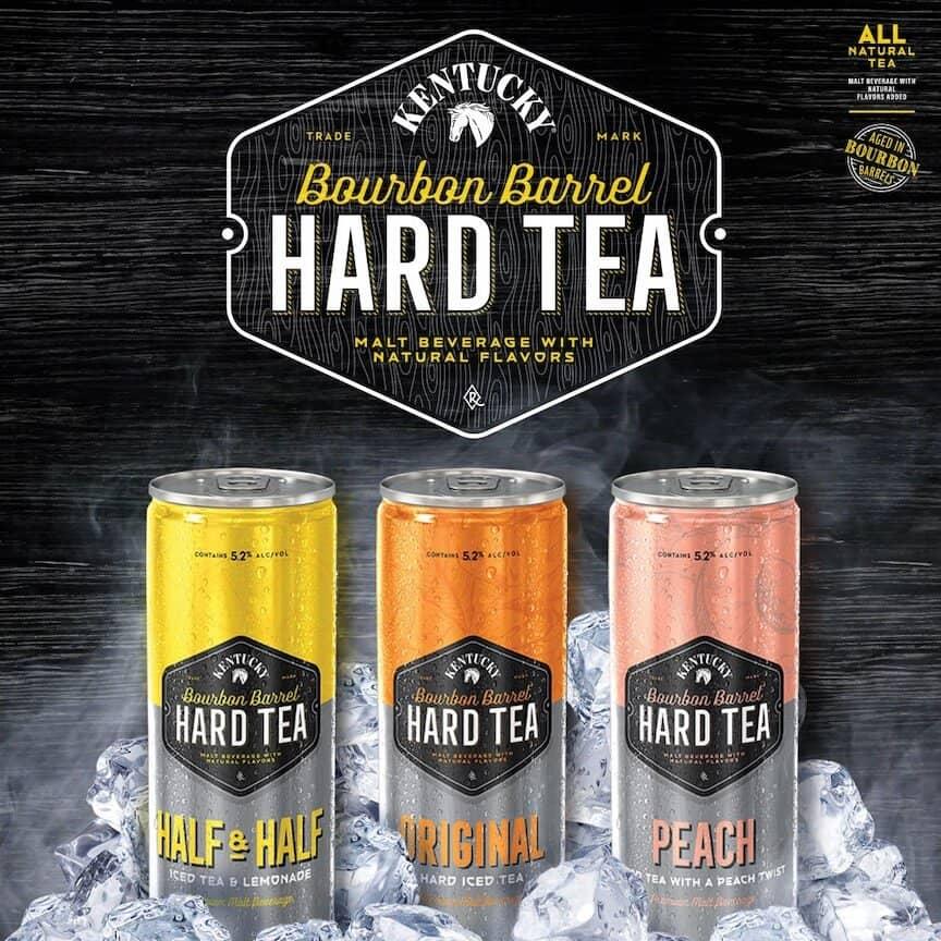 TB Hard Tea - Lexington Brewing & Distilling Co. launches line of barrel-aged hard teas