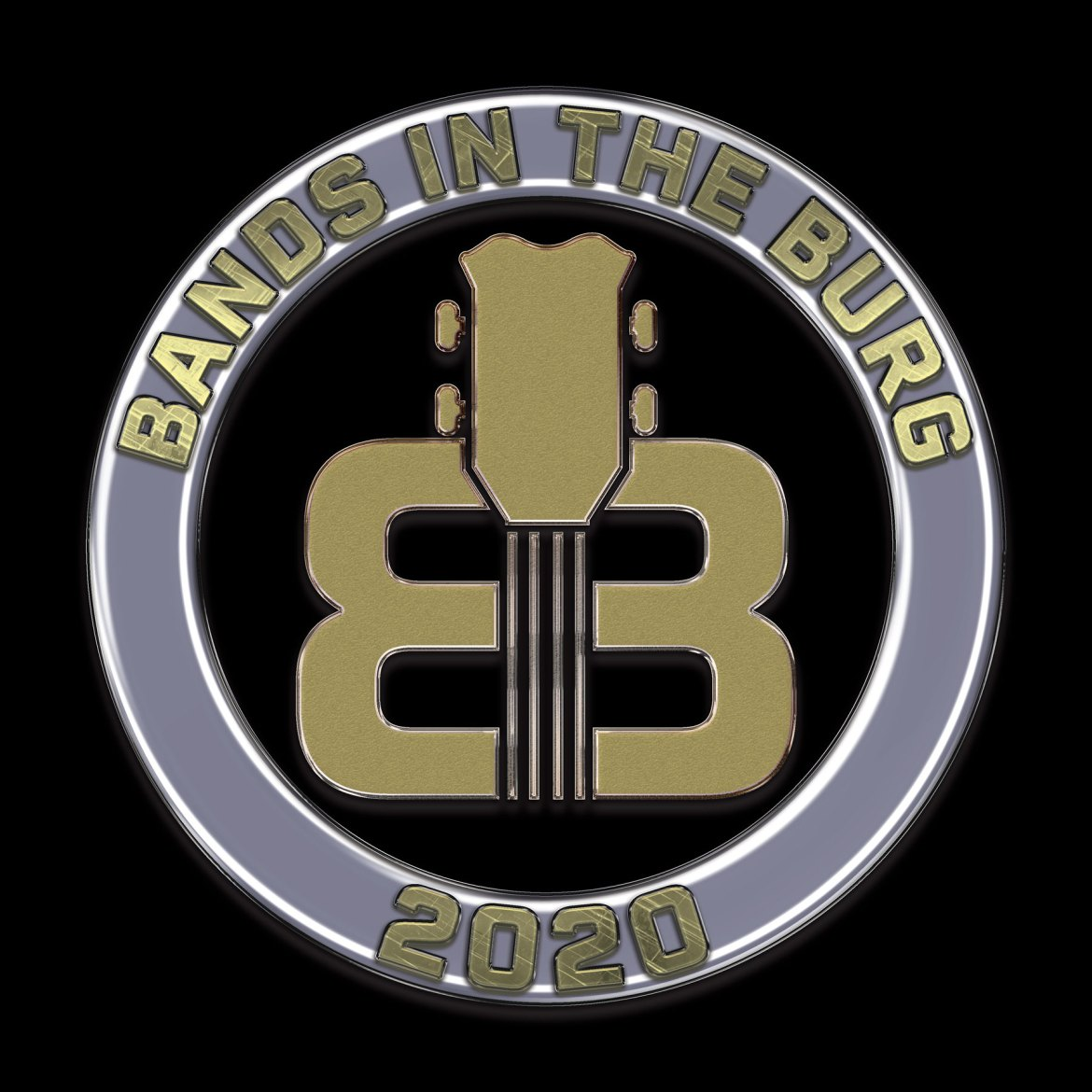 Bands in the Burg Color Logo Black - Bands in the Burg