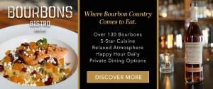Bourbon Trail Banner 1 - Bourbons Bistro Ad