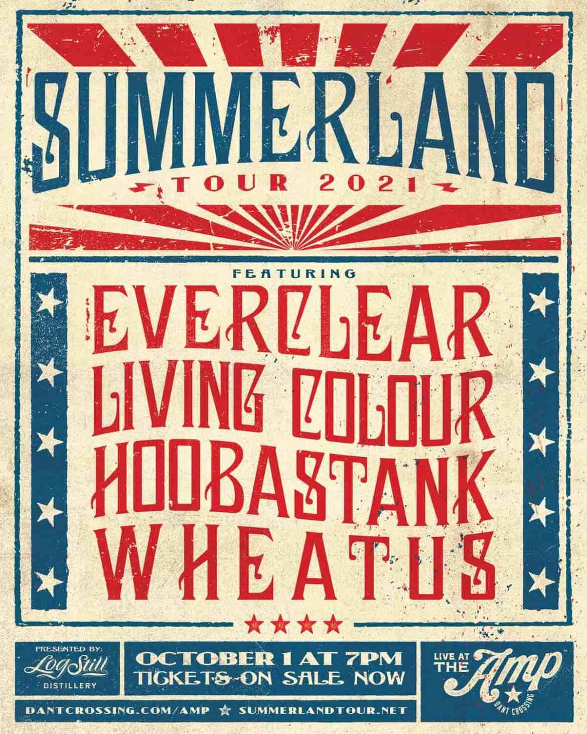 Summerland - Summerland Tour 2021 Presented by Log Still Distillery