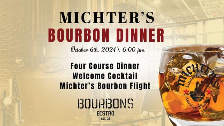 Michter's Bourbon Dinner