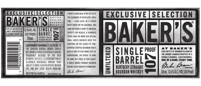 Baker's Label