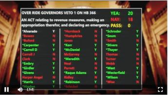 senate 366 Veto