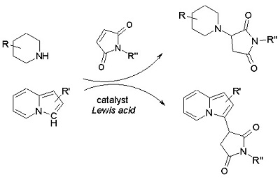 Synthesis of Potential Inhibitors of InhA with Pyrrolidine