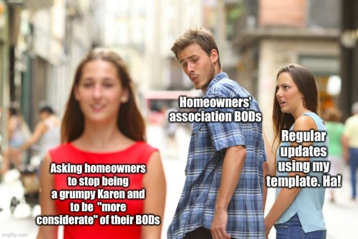 just another homeowners association meme