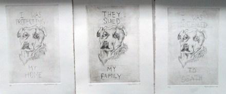 2014, etchings