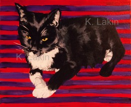 """Molly"", 2014. 16x20inches, Acrylic on canvas."
