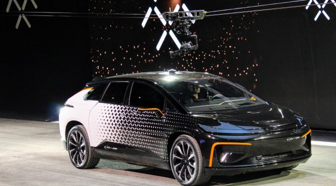 Faraday Future Shoots For The Stars With The FF91 Concept