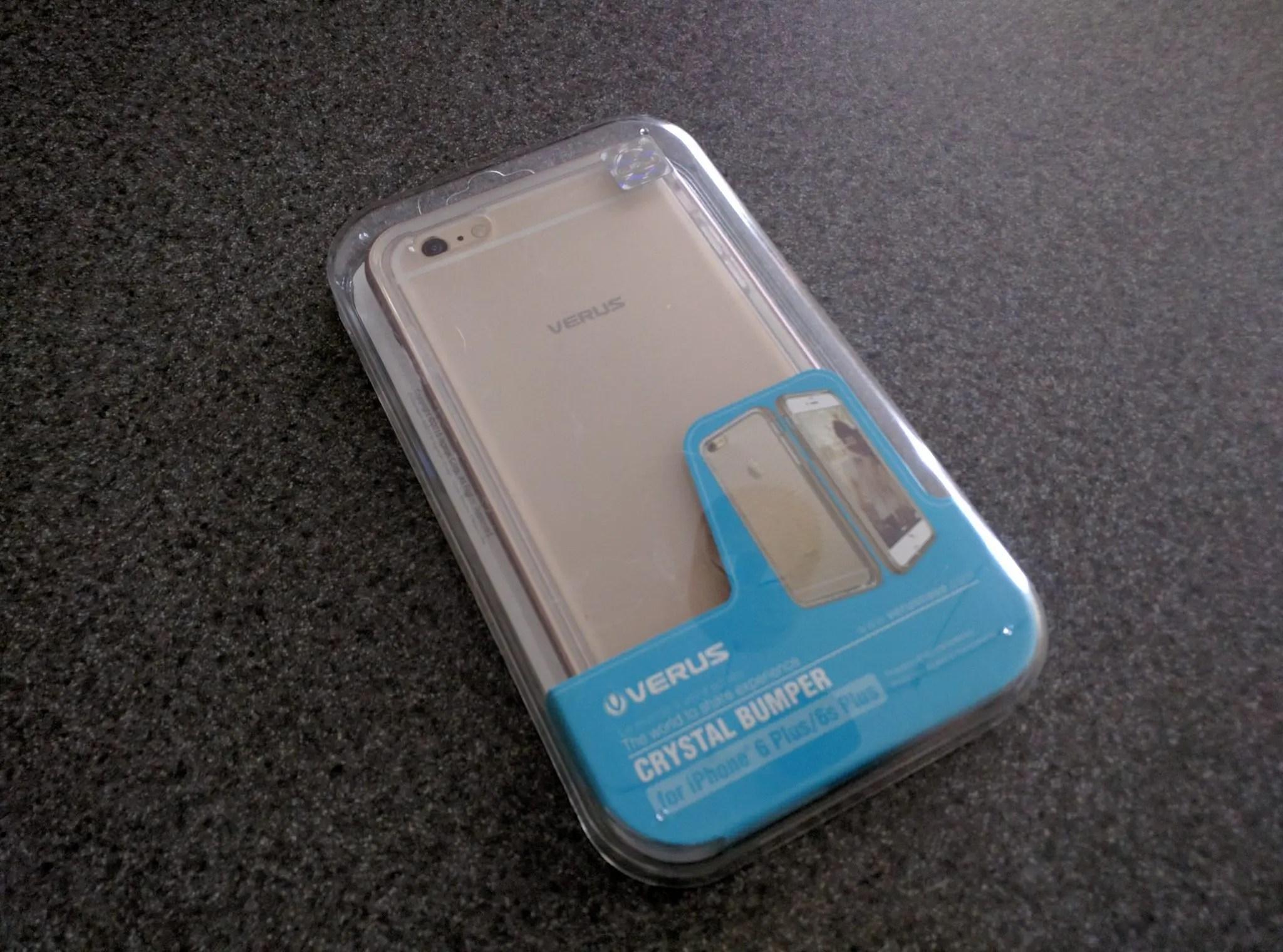 new styles 4e5a7 45a92 Verus Crystal Bumper iPhone 6s Plus Case   Kyle A. Morris