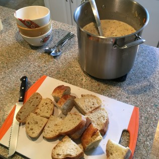 Ashley made soup