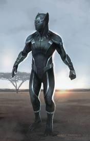 Marvel Cinematic Universe Black Panther Costume Concept