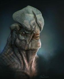 Creature Bust Concept