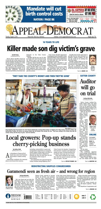 Front Page, August 2, 2011