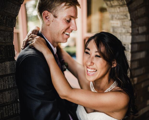 Historic Overlook House Backyard Wedding Photographer