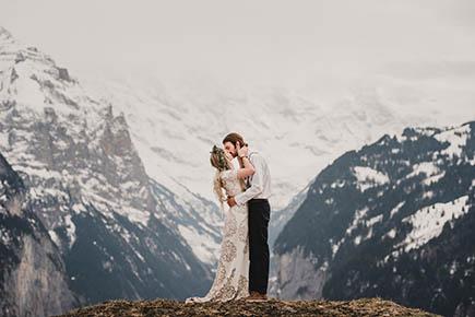 Swiss Alps Wedding Photography