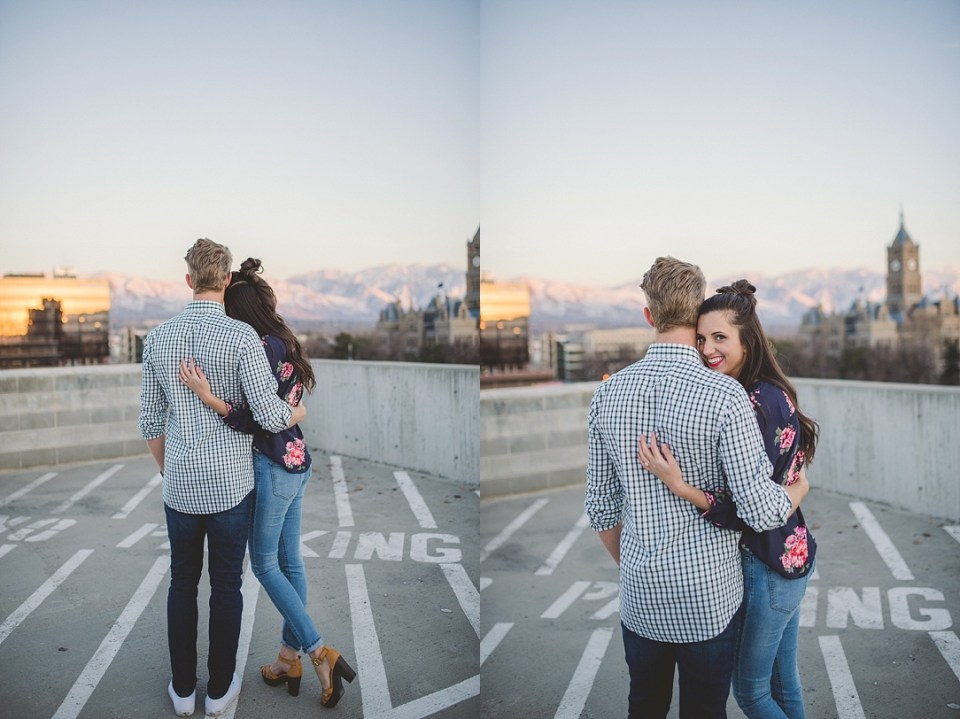 Rooftop Engagement Shoot Kylee Ann Photography SLC Photographer7