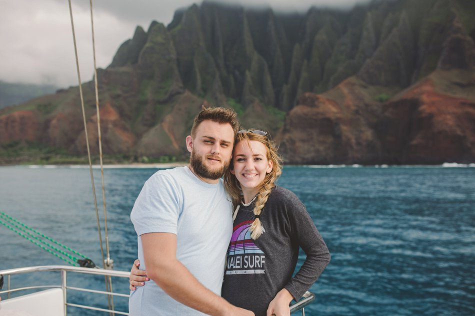 Kylee Ann Photography Napali Coast Sunset Tour Pictures Dolphins12