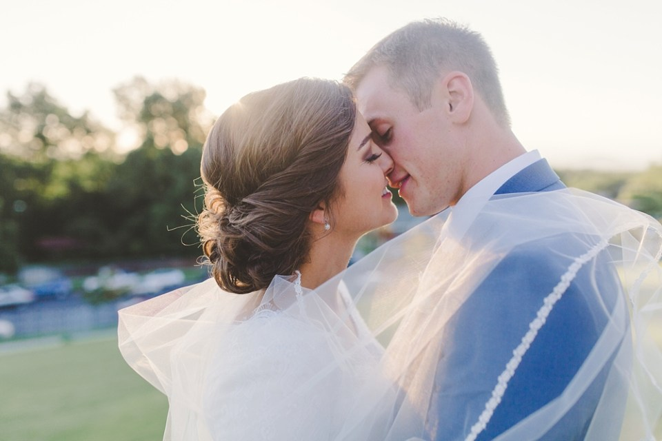 Pinterest Wedding Planning veil kiss