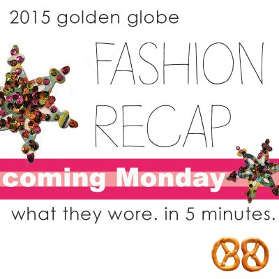 You now have a reason to look forward to Monday: My Fashion Recap