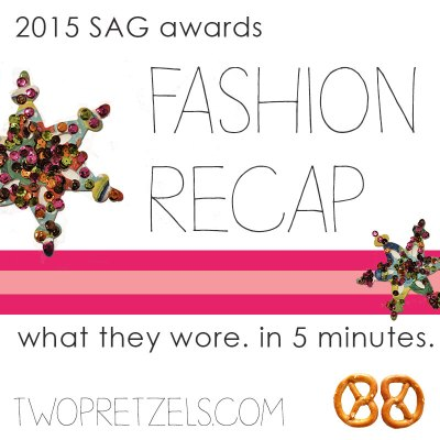 SAG Awards Fashion Recap