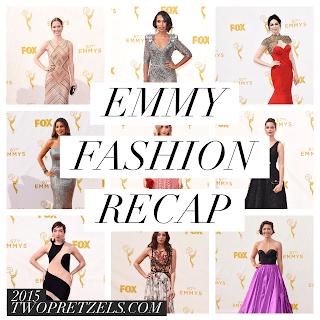 2015 Emmy Red Carpet Fashion Recap