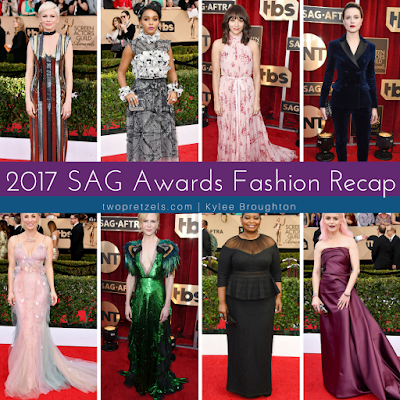 2017 Screen Actors Guild Awards Red Carpet Fashion Recap