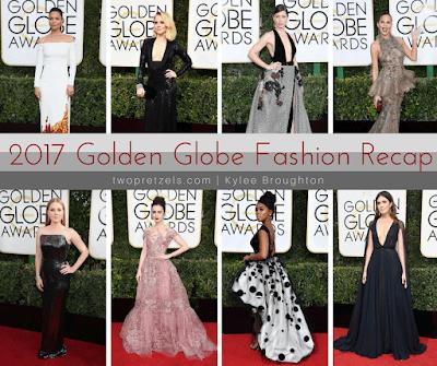 2017 Golden Globe Fashion Recap