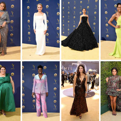 2018 Emmy Red Carpet Fashion Recap