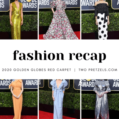 2020 Golden Globe Red Carpet Fashion Recap