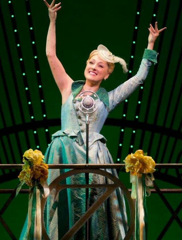 Tiffany Haas as Glinda, photo copyright 2011 Joan Marcus.