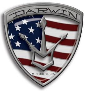 Darwin Metal Badge Logo