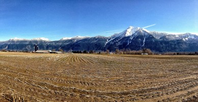 Mt Cheam from Agassiz