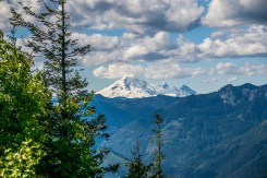 Mt. Baker from the 1st lookout.