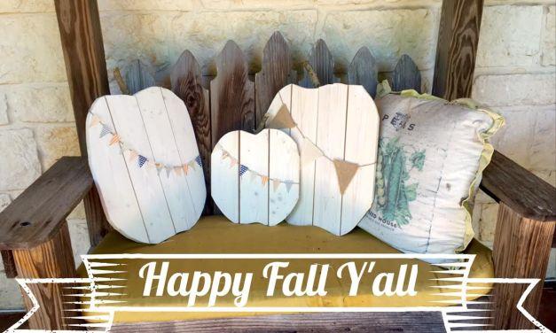 The Nest At Its Best: DIY Wood Pumpkins