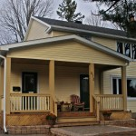 Siding, Soffit, Fascia, Eavestrough, Window capping.  Framing and renovation by EAL Construction http://www.ealconstruction.com/