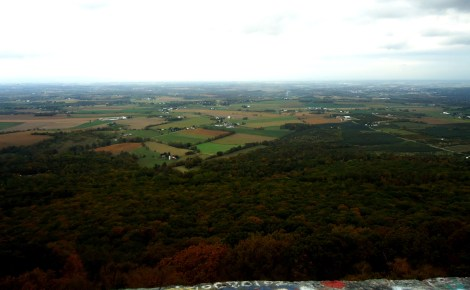 The view from High Rock