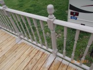 A deck we are painting for a family, for service.