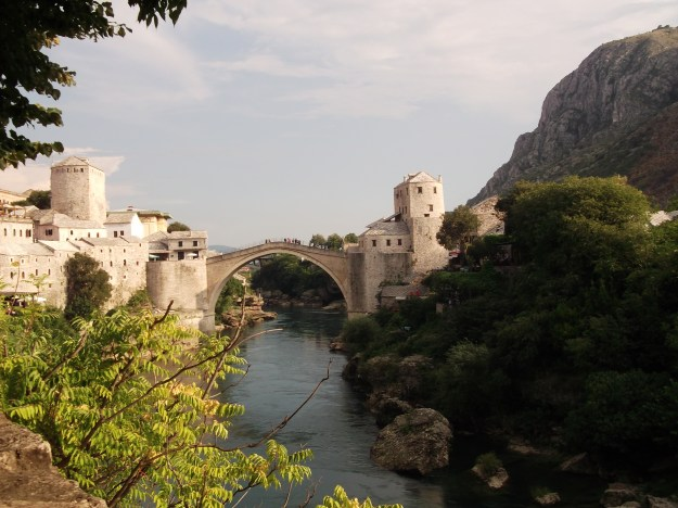 A picture I took of Stari Most (Old Bridge) in Mostar, Bosnia, August 2011