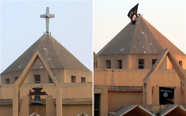 The Armenian Catholic Church of the Martyrs in Raqqa City