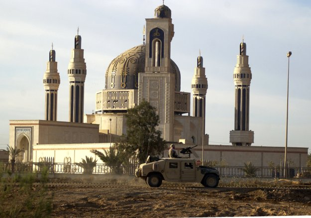 Umm al-Qura (Mother of All Cities) Mosque, built by Saddam to commemorate his