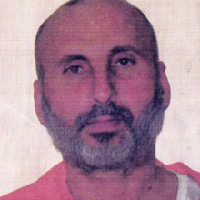 Picture taken of Samir al-Khlifawi after he was arrested by the Americans