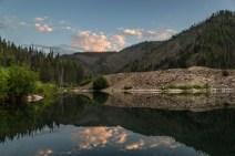 Tailing pond in Bonanza, Idaho © Kyler Michaelson