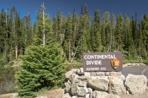 Here is the continental divide. You can pee into both oceans from here if you gyrate a little bit
