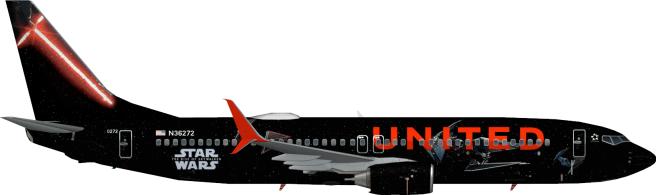 UAL N36272 L