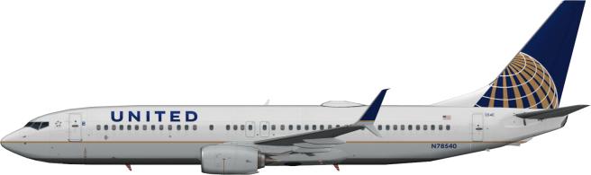 UAL N78540