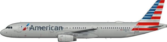 AAL N585UW