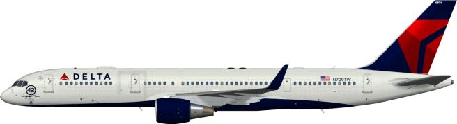 DAL N709TW